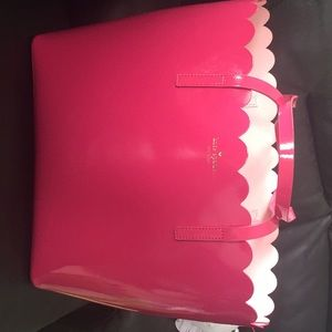 Kate spade lily avenue large tote in pink